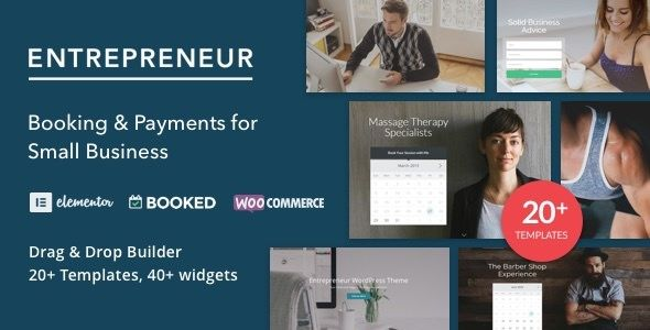Entrepreneur v2.0 - Booking For Small Businesses