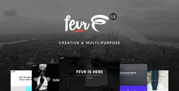 Fevr v1.2.9.5 - Creative MultiPurpose Theme