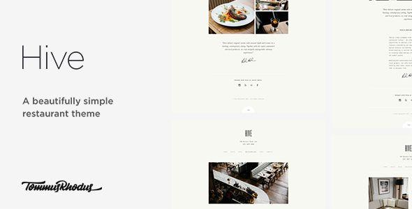 Hive v1.0.0 - Restaurant & Cafe WordPress Theme