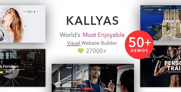 KALLYAS v4.15.15 - Responsive Multi-Purpose WordPress Theme