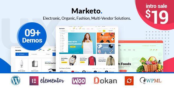 Marketo v1.0.9 - ECommerce & Multivendor Theme