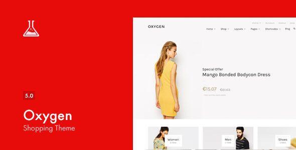 Oxygen v5.0.5 - WooCommerce WordPress Theme
