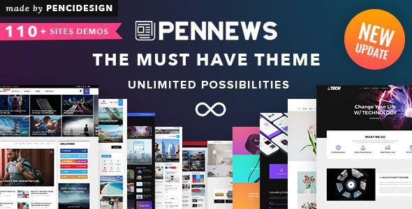 PenNews v6.1 - News/ Magazine/ Business/ Portfolio