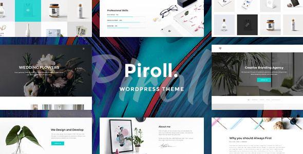 Piroll v1.0 - Portfolio WordPress Theme