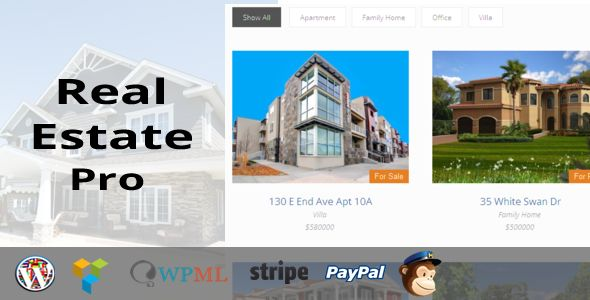 Real Estate Pro v1.4.3 - WordPress Plugin
