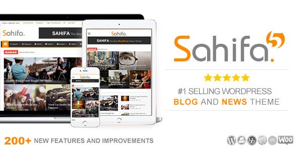 Sahifa v5.6.6 - Responsive WordPress News, Magazine