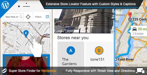 Super Store Finder For WordPress v4.5