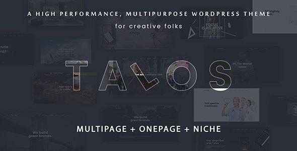 Talos v1.2.4 - Creative Multipurpose WordPress Theme