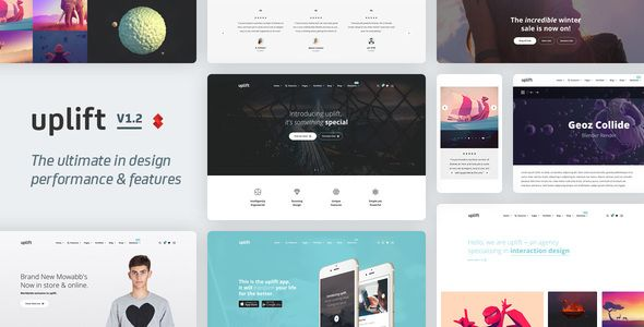 Uplift v1.3.76 - Responsive Multi-Purpose WordPress Theme