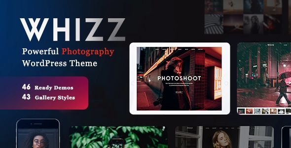 Whizz v1.4.6 - Photography WordPress For Photography