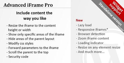 Advanced iFrame Pro v7.5.4