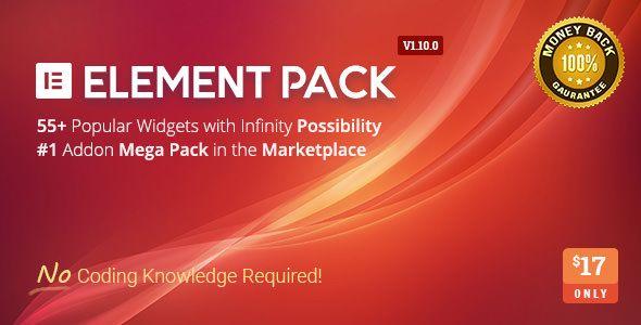 Element Pack v1.1.0.0 - Addon For Elementor Page Builder