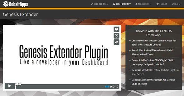 Genesis Extender Plugin v1.9.1