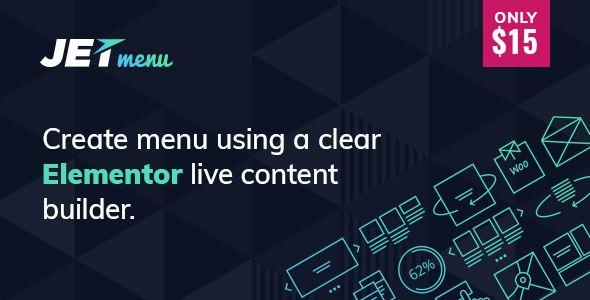 JetMenu v1.5.1 - Mega Menu For Elementor Page Builder