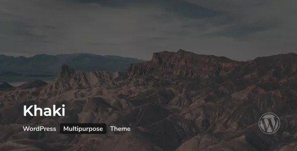 Khaki v2.0.4 - Responsive Multi-Purpose WordPress Theme