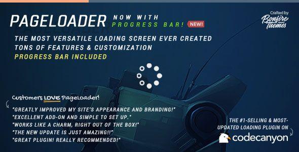 PageLoader v3.1 - Loading Screen and Progress Bar