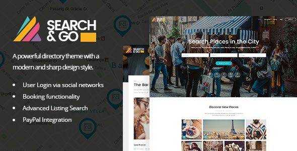 Search & Go v2.1 - Modern & Smart Directory Theme