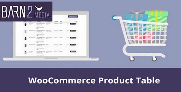 WooCommerce Product Table v2.2.2