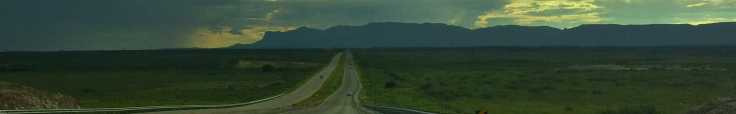 Lonly road Texas