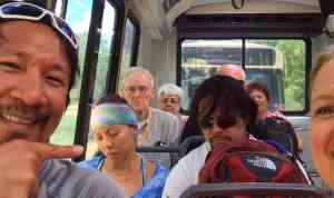 Yosemite Bus Ride