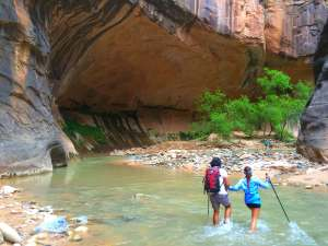 The narrows water crossing