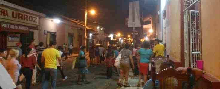 Christmas celebrations in Leon Nicaragua