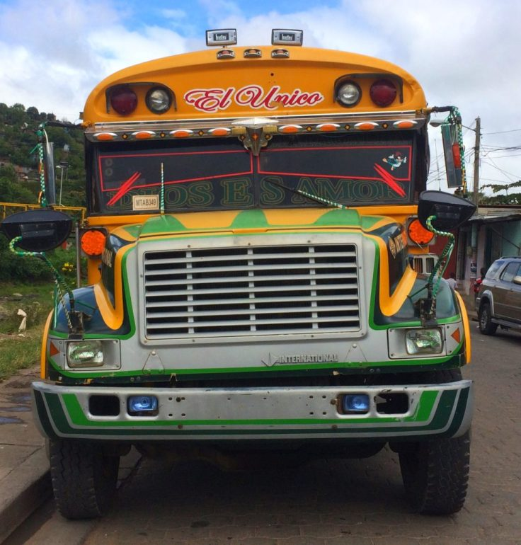 colorful Chicken bus