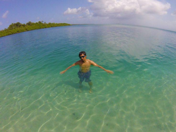Playa de las Estrellas in Bocas Del Toro