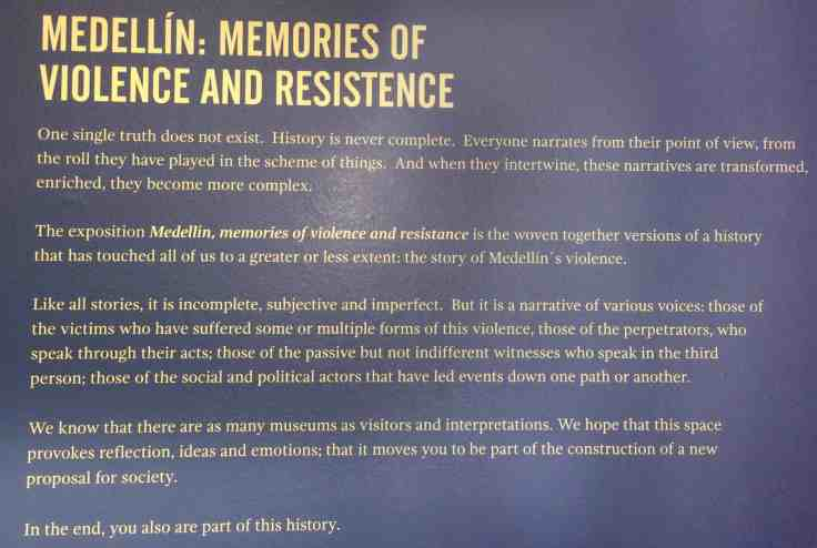 violence and resistence plaque