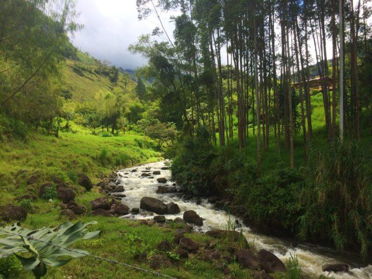 River in Jardín Colombia