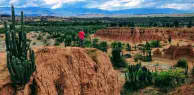 Cliff in Tatacoa Desert Must see Colombia