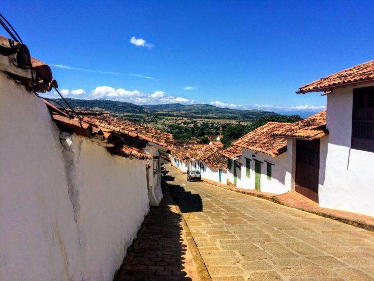 Barichara near San Gil Colombia