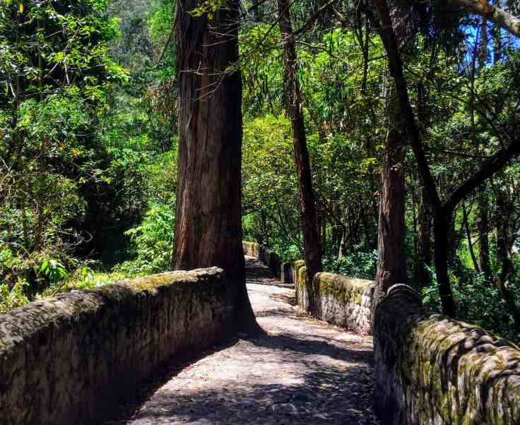 path in Otavalo,Otavalo hiking