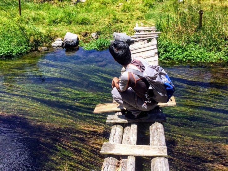 Bridge in Otavalo hiking