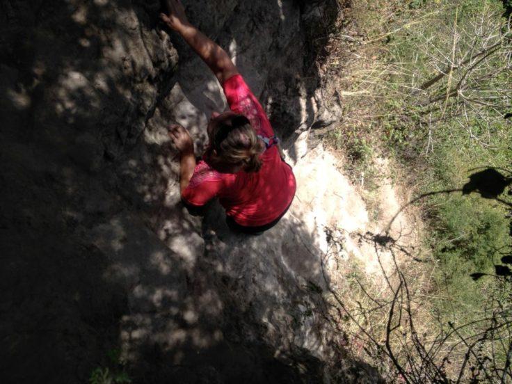 Cliff in Otavalo, Otavalo hiking