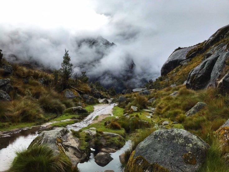 High Elevation near Punto Pass