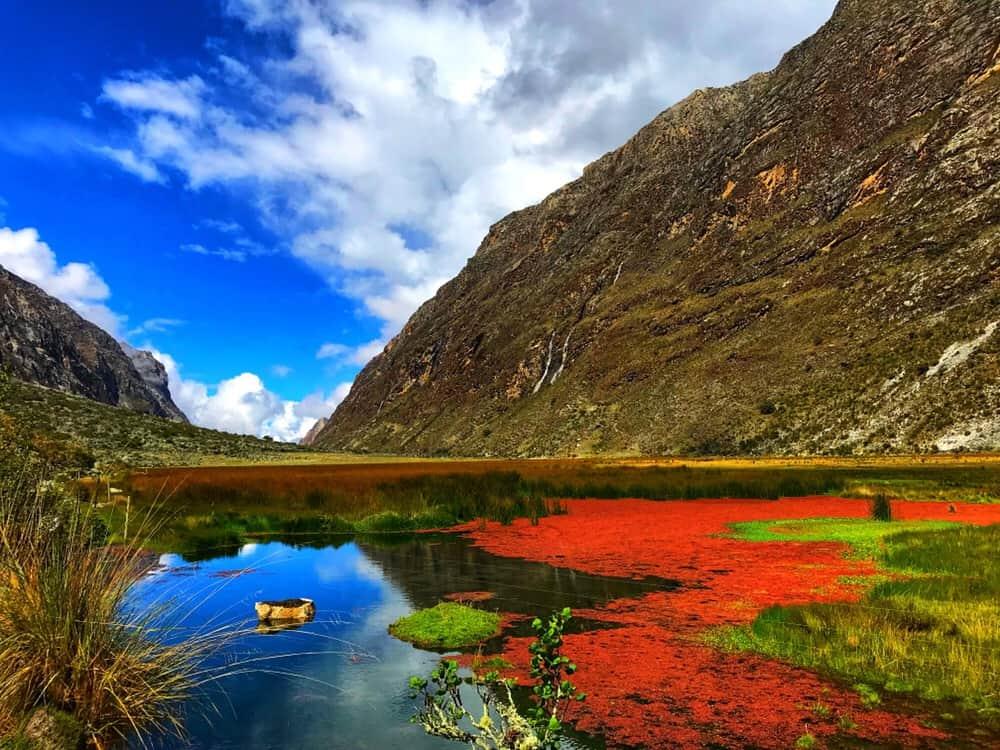 Laguna Jatuncocha; Peru treks