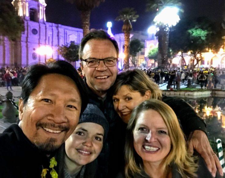 New Years Eve in Arequipa, Peru