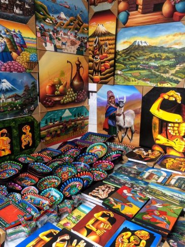 Otavalo Market things to do in Ecuador