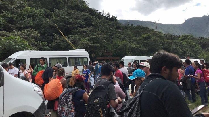 Hydroelectrica the start of the Machu Picchu Hike