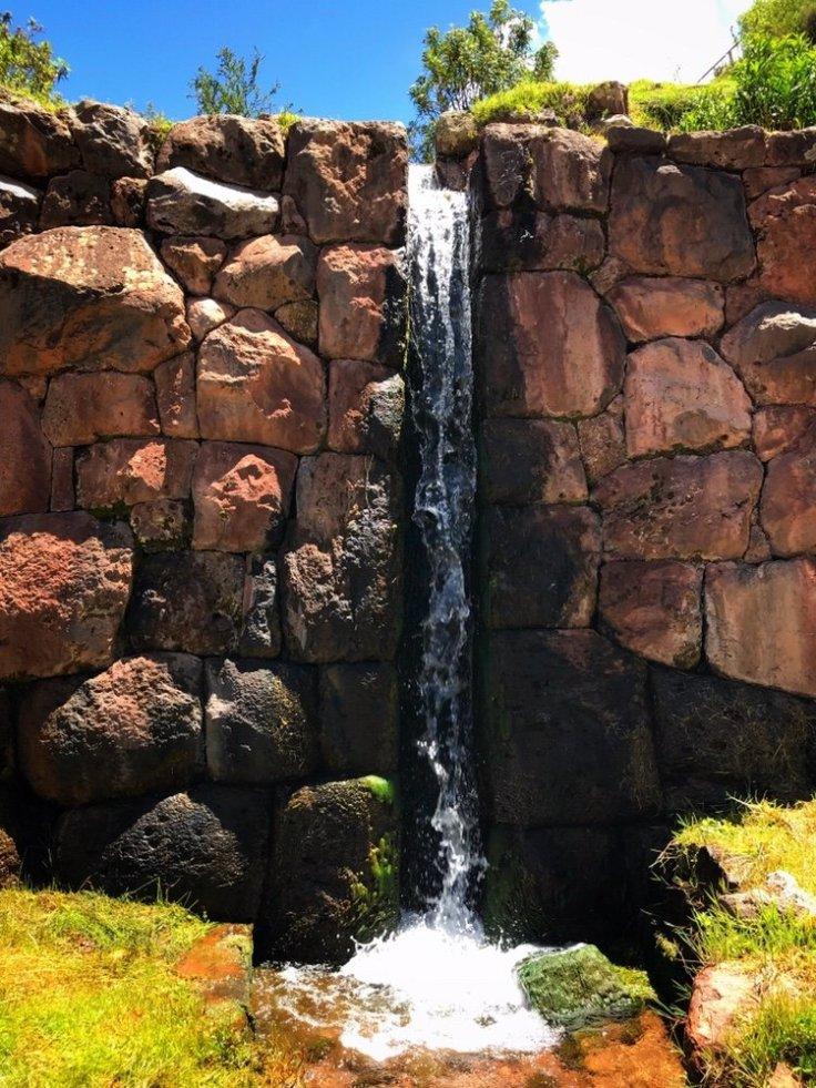 Fountain of Tipon an ancient Inca ruin