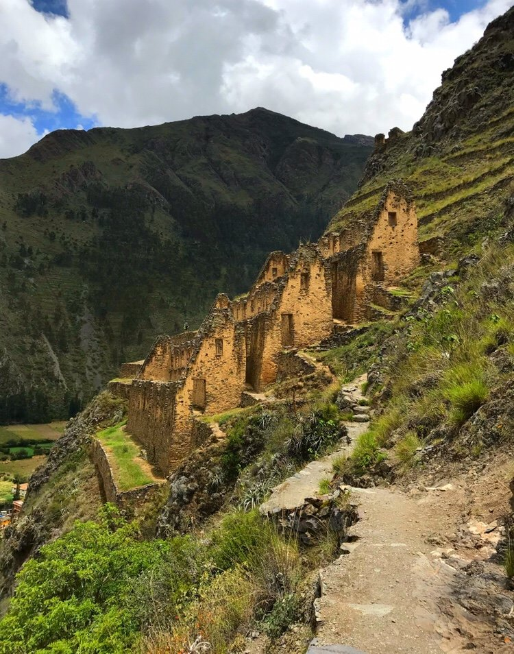 Inca Granaries in the Sacred Valley