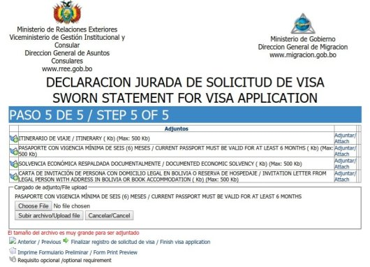Bolivia Visa Made Easy For Us Passport Holders 43bluedoors