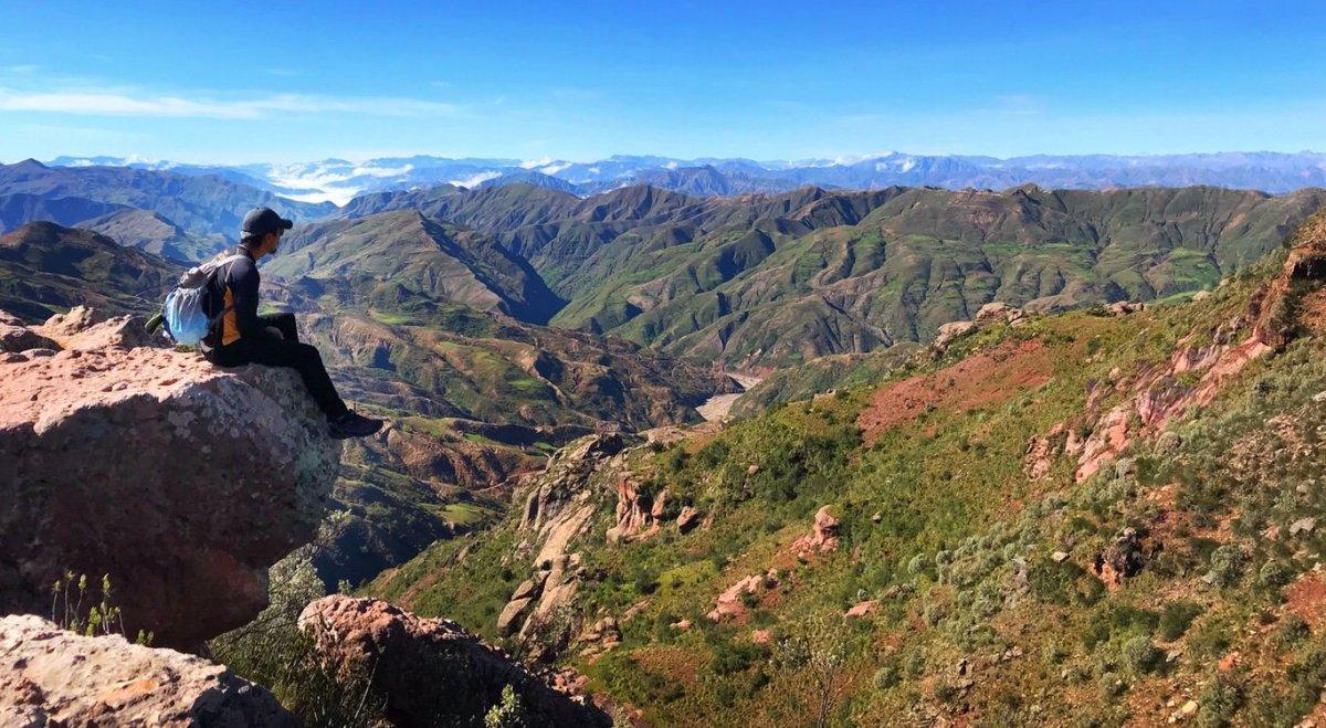 Vally beside Torotoro Bolivia
