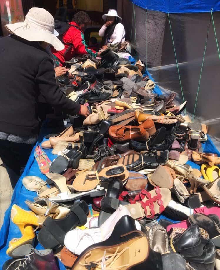 Shoe shopping south america