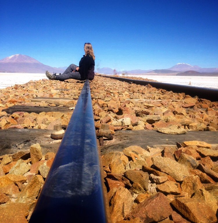 Railroad in Uyuni, How Travel Changes Us