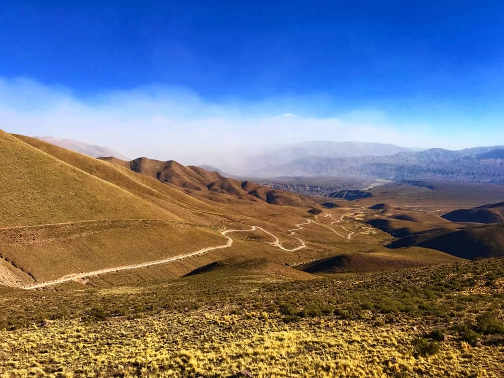 Road to the fourteen colored mountains, colors of freedom