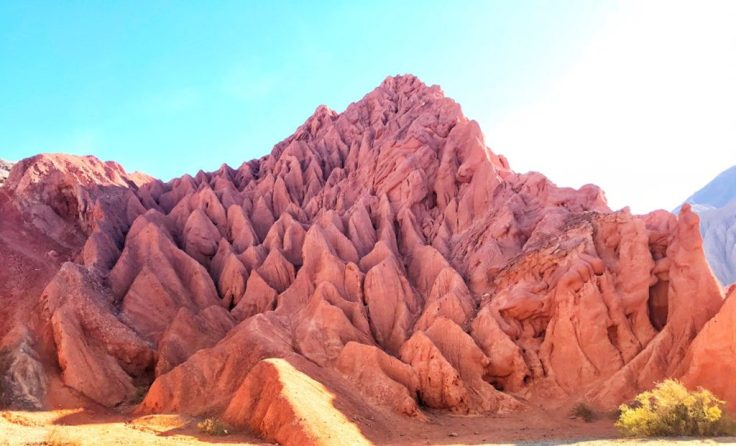 Red rocks, colors of freedom