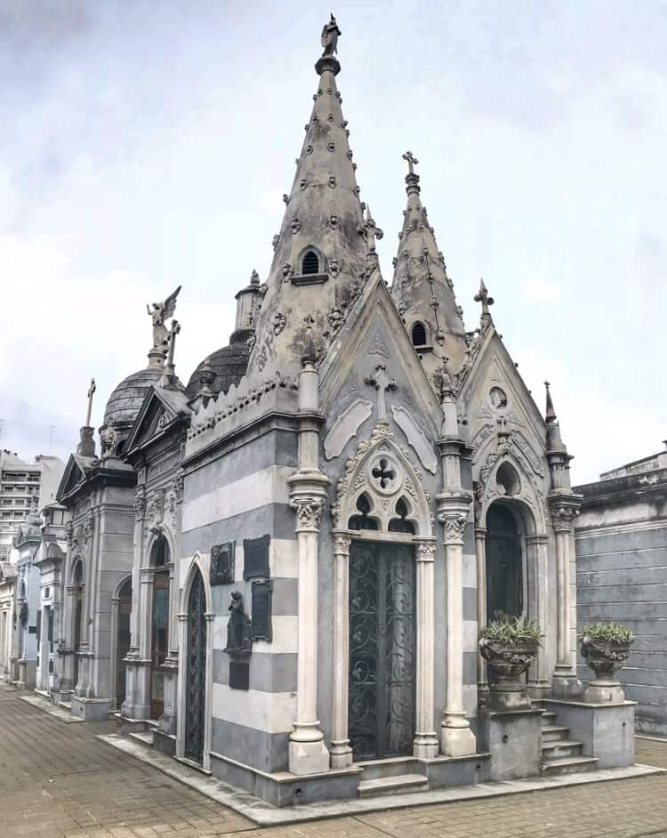 Crypt in the Recoleta Cemetery