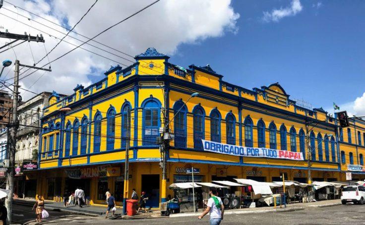 Near the port in Belem Brazil